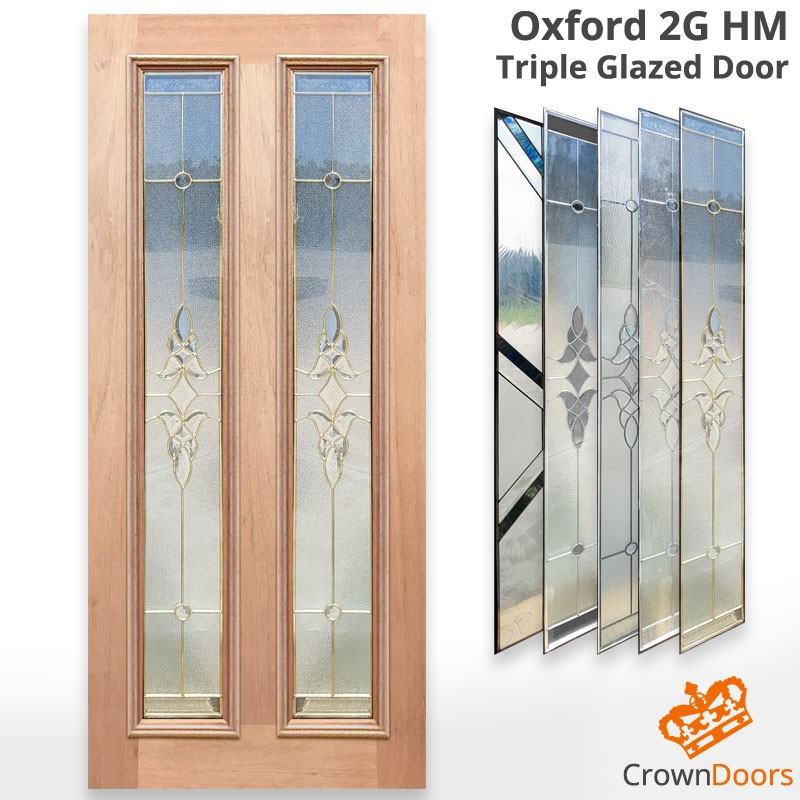 Oxford Triple Glazed Solid Timber Door