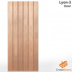 Lyon-3 Solid Timber Door