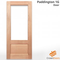Paddington 1G Solid Timber Door