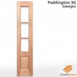 Paddington 3G Solid Timber Sidelight