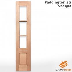 Paddington 3G Solid Timber Sidelight