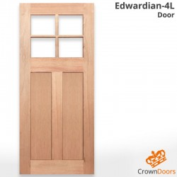 Edwardian-4L Solid Timber Door