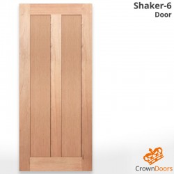 Shaker-6 Solid Engineered Door (SQ6)