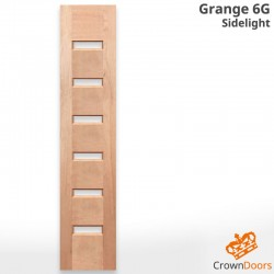 Grange 6G Modern Solid Timber Sidelight