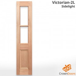 Victorian-2L Solid Timber Sidelight