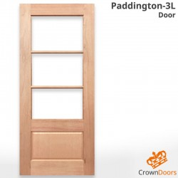 Paddington-3L Solid Timber Door