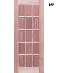 15P Modern Solid Timber Door
