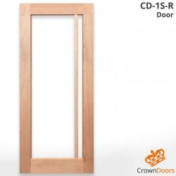 CD-1S-R Solid Timber Door