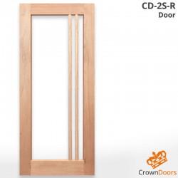 CD-2S-R Solid Timber Door