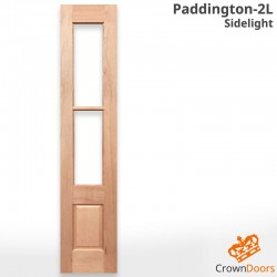 Paddington-2L Solid Timber Sidelight
