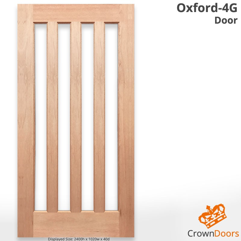 Oxford 4G Solid Timber Door