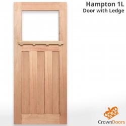 Hampton 1L Solid Timber Door with Ledge