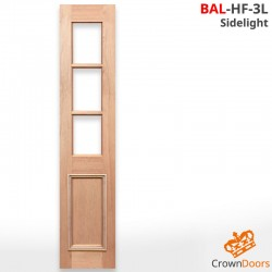 BAL-HF-3L SL Solid Timber Sidelight
