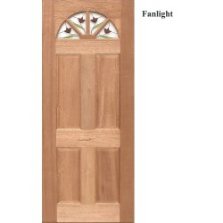 Fanlight Solid Timber Door