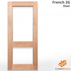 French 2G Solid Timber Door