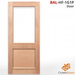 BAL-HF-1G1P Solid Timber Door