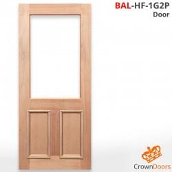 BAL-HF-1G2P Solid Timber Door