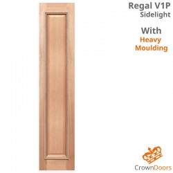 Regal V1P Solid Engineered Sidelight with Heavy Moulding
