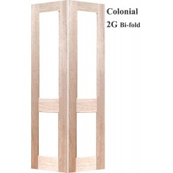 Colonial 2G Solid Timber Sidelight Bifold