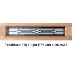 Traditional High-light HM with 6-diamond Solid Timber Doors
