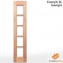 French 5L Solid Timber Sidelight