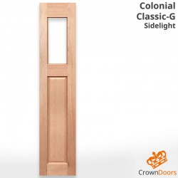 Colonial Classic Solid Timber Sidelight