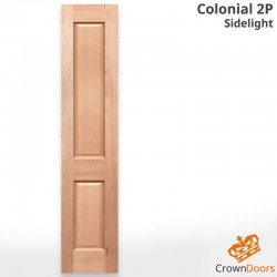 Colonial 2P Solid Timber Joinery Sidelight