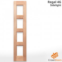 Regal 4G Solid Timber Sidelight