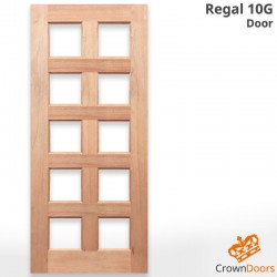 Regal 10G Solid Timber Door