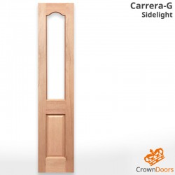 Carrera Glazed Solid Timber Sidelight