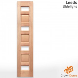 Leeds Modern Solid Timber Sidelight