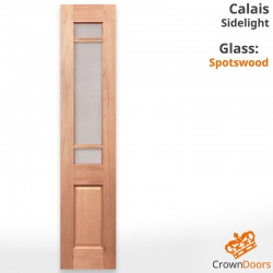 Calais Windsor Solid Timber Sidelight with Spotswood Glazing
