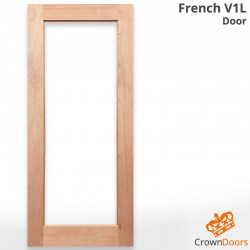 French V1L Solid Engineered Door