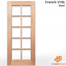 French V10L Solid Engineered Door