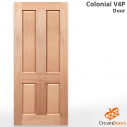 Colonial V4P Solid Engineered Doors
