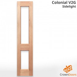 Colonial V2G Solid Engineered Sidelight