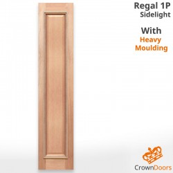 Regal 1P Solid Timber Joinery Sidelight with Heavy Moulding