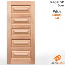 Regal 5P Solid Timber Joinery Doors with Cricket Bat