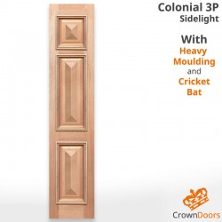 Colonial 3P HMCB Solid Timber Sidelight